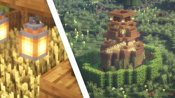 Minecraft | Ultimate Survival Dirt House Idea | How to Build a Dirt House Tutorial Minecraft Blog