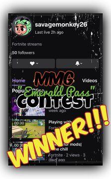 """December's MMG """"Emerald Pass"""" Contest WINNER!!! Minecraft Blog"""