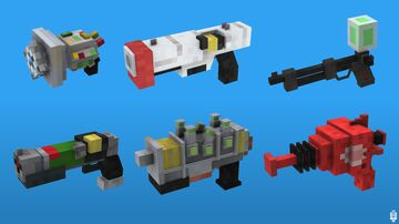 """Fallout 4 Guns in a """"Minecraft Style"""" Minecraft Blog"""