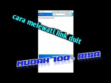 CARA MELEWATI LINK DUIT.CC | MUDAH 100% BISA Minecraft Blog