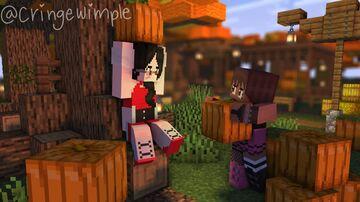 pumpkin patch date~ Minecraft Blog