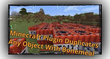 Minecraft Custom Plugin Lets Players Duplicate Any Object With Bonemeal Minecraft Blog