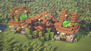 Minecraft | The Ultimate Survival House Idea | How to Build a Survival House Tutorial Minecraft Blog