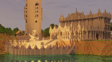 The Cobbelthorn Fort   Commission For PleaseNotMe Minecraft Blog