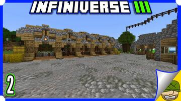 Barn Raising   2   Minecraft Infiniverse S3 Minecraft Blog