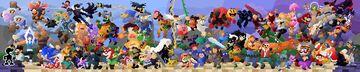 SSBU Mural Pixel Art Minecraft Blog
