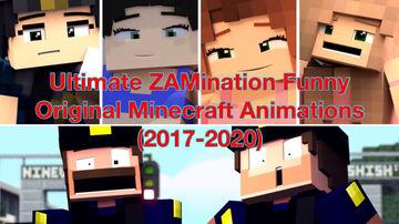 Ultimate ZAMination Funny Original Minecraft Animations (2017-2020) Ft. Officer Eileen, Swim Suited Eileen, Beach Rebecca, Parrot Owner Rebecca, Officer Tom & Tim Minecraft Blog
