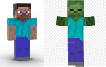Why zombies are dressed like Steve. part1 Minecraft Blog