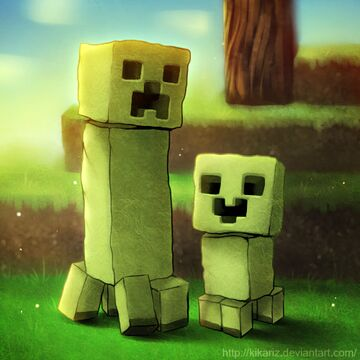 What A Creeper Really Wants Minecraft Blog