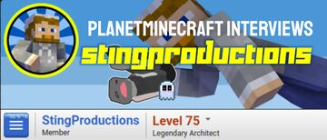 Planet Minecraft Interviews StingProductions Minecraft Blog