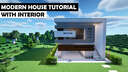 Minecraft: How to Build a Small Modern House #2 || Tutorial Minecraft Blog
