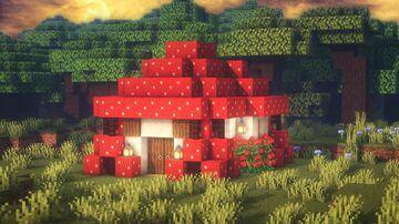 Minecraft | Ultimate Mushroom House Idea | How to Build a Mushroom House Tutorial Minecraft Blog