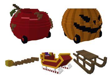 5 Holiday Vehicles Minecraft Blog