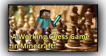 Minecraft Player Created a Working Chessboard Minecraft Blog