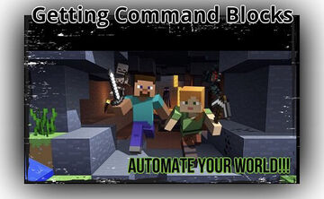 ⛏How to get a command block in Minecraft and automate your world Minecraft Blog