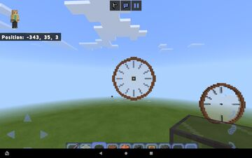 Does any body know how to make clock hands Minecraft Blog