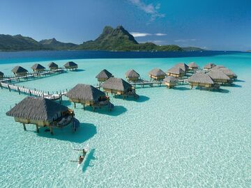 Autumn Lake Port Resort Finished! Bora Bora Recreation Next? Minecraft Blog