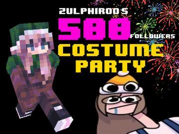 500 Follower Party Minecraft Blog