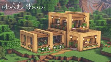 Minecraft | How to Build an Aquarium Axolotl House Minecraft Blog
