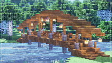 MINECRAFT TUTORIAL | How to Build a Beautiful Bridge Minecraft Blog