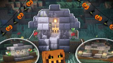 Minecraft | Top 3 Best Tombstone Ideas | How to Build a Tombstone Tutorial (HALLOWEEN SPECIAL) Minecraft Blog
