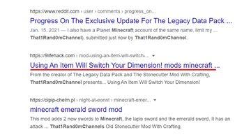 Uh oh... Minecraft Blog
