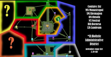 The Map of Varosa Minecraft Blog