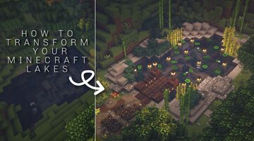 How to terraform your lakes/ponds Minecraft Blog