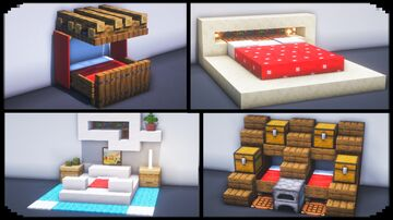 10 Bed Build Hacks and Ideas Minecraft Blog