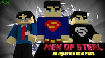 "IHasFins' ""Men Of Steel"" Skin Pack Minecraft Blog"