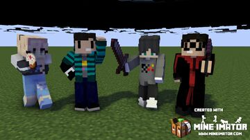 My First Renders on Mine-imator! Minecraft Blog
