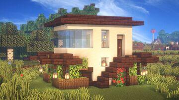 Minecraft | Ultimate Modern House Idea | How to Build a Modern House Tutorial Minecraft Blog