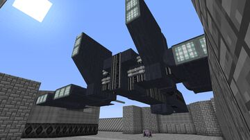 HWK-290 light freighter | Full scale | STAR WARS DARK FORCES RECREATION PROJECT Minecraft Blog