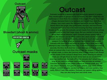 Outcasts! Minecraft Blog