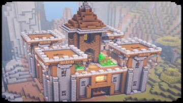 How to Build a Castle Minecraft Blog