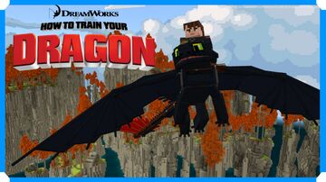 How To Train Your Dragon Adventure Map Preview Minecraft Blog