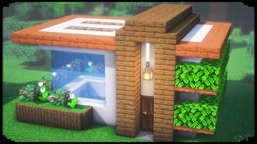 Simple Modern House Minecraft Blog