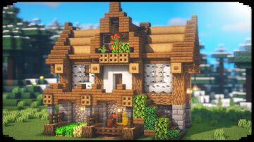 How to Build Simple Survival House Minecraft Blog