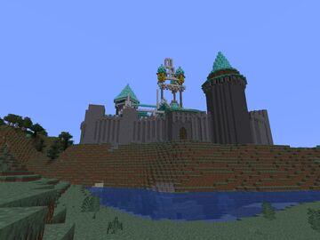 Castle Comission Minecraft Blog