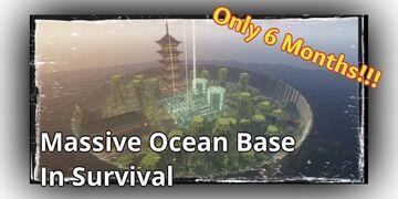 Minecraft Player Builds Massive Ocean Base In Survival After 6 Months Minecraft Blog