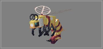Queen bee model Minecraft Blog