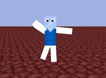 Progress on my new skin Minecraft Blog