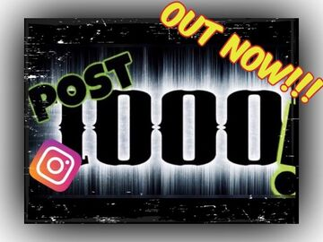 OUT NOW!!! My 1000th Instagram Post - A Video Montage (Thank you for the journey) Minecraft Blog