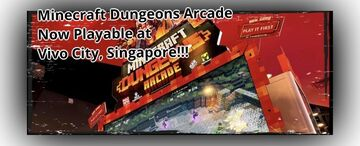 4-Player Minecraft Dungeons Arcade Is Now Playable Only At Timezone VivoCity Singapore Minecraft Blog
