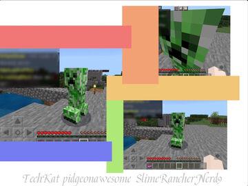 This Creeper Isn't Moving Minecraft Blog