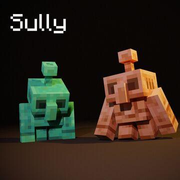 My take on the Copper Golem Minecraft Blog