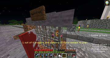 I trapped @Zitzabis! Minecraft Blog