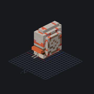 nautilus/but alive/3D Minecraft Blog