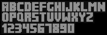 Minecraft Voxel Alphabet Minecraft Blog