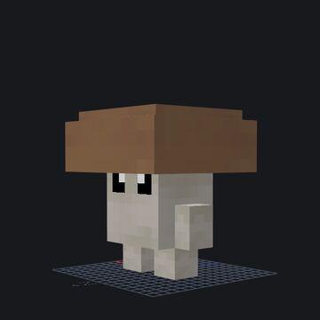 Brown mushroom / live Minecraft Blog